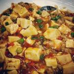 ��������  It wasn't on the menu but Black Sesame made Mapo Tofu for lucky guest.
