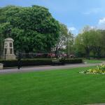Panoramic from Town Hall to St Stephens Place - the Leisure Quarter
