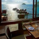 View from Deep Blue Restaurant