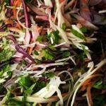 Rainbow Street Salad