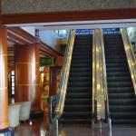 Escalator in the Lobby leading to shopping arcade