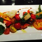 Locally grown Heirloom tomato salad