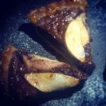 Chocolate & Pear Tart