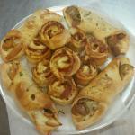 Pepperoni rolls and mini strombolis