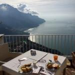 breakfast from main balcony