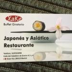 cartão do restaurante