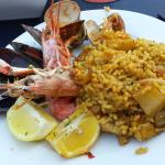 paella fruits de mer !!!!