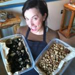 chef with some locally foraged truffles