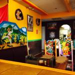 Here are some photos of the colorful decor at this excellent family, friends, and special occasi