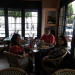 Almoço em familia no Da Fabio - Praia de Marbella