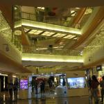Beautiful Interior of Holiday Plaza