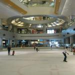 Ice Skating Rink in Mall