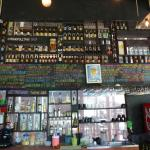 large selection of belgian beers