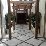 Entrance to spa at MGM