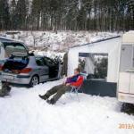 Campingpladsen.