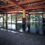 庭園大浴場「式部の湯」