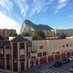 Great view of Gibraltar from our room,
