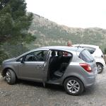 Parking spot for Paseo de Los Pinsapo walk