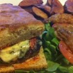 Applecheek Farm grass-fed organic burger