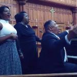 The Bright Family sings gospel spirituals