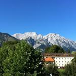 Austria Classic Hotel Heiligkreuz with mountains