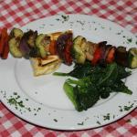 Brochetta de vegetales