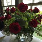 Great service when I asked them to place 15 red roses before we arrive.