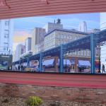 Mural on Old Chicago Building