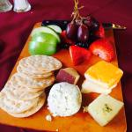 Very nice cheese platter appetizer!