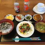 This was one of the amazing Japanese breakfasts I had during my stay. Delicious!