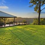 View from the Pergola at the Rear of the Property