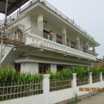 Villa from Outside. My kids standing on First Floor Balcony.