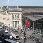 View of Gare du Nord from room