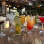 Drinks ao pôr do Sol
