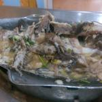 Steamed Sea Bass (after)