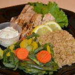 Grilled Grouper Dinner with choice of 2 sides