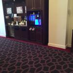 Lobby free snacks coffee water to start your NYC Metracation.