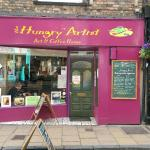 Front of Hungry Artist