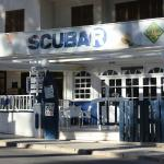 Scubar outside terrace
