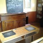 mock-up of the schoolroom