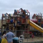 Fun play area for the kids