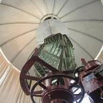 The fresnel lens in the lighthouse