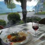 Dining at the Hotel Seeho on Lac Wallensee