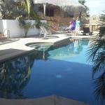 Nice warm pool