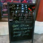 The Blackened Chicken Al Fredo special