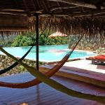 Yoga palapa - day use is for chillin.