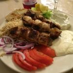 They had me at Bacon Wrapped Chicken Souvlaki!  Everything was delicious, service courteous. Hig