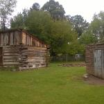 Romeo Cabin.  Early settlers cabin, one of the last remaining.