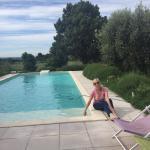 The pool at Clos du Malvallat
