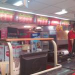 Burger section